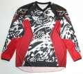 Koszulka motocross FOX HC red/black (Victory)