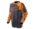 Koszulka motocross FOX 360 Orange (Solids), r. M